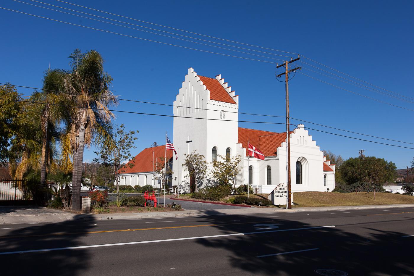 Til dansk julegudstjeneste i Californien