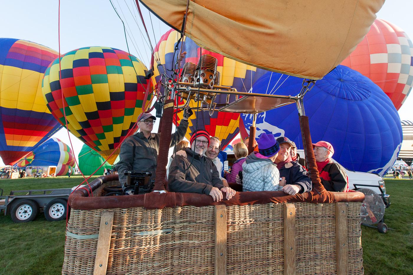 Tur med varmluftsballon 2