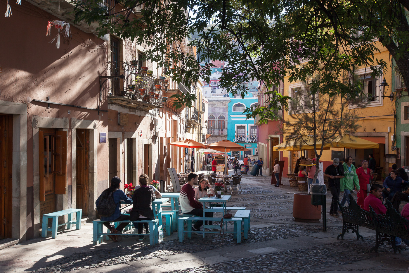Guanajuato - en sølvmineby fra kolonitiden
